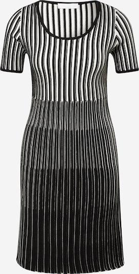 BOSS Casual Jurk 'Farya' in de kleur Zwart / Wit, Productweergave