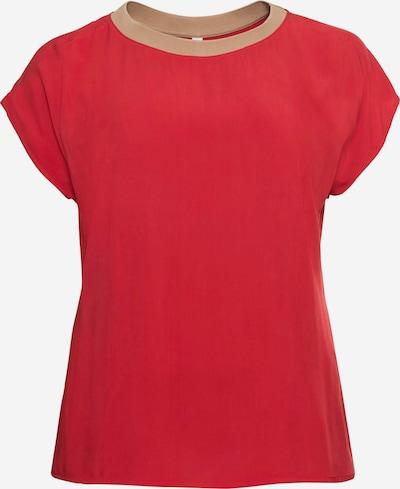 Marškinėliai iš SHEEGO , spalva - smėlio / ugnies raudona, Prekių apžvalga