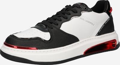 Sneaker low 'ELEKTRO' Karl Lagerfeld pe roșu / negru / alb, Vizualizare produs