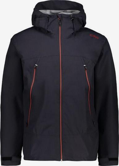 CMP Outdoorjacke in rot / schwarz, Produktansicht