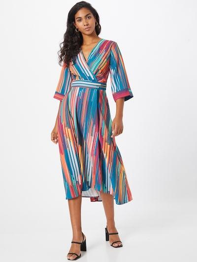 Closet London Šaty - modrá / zmiešané farby, Model/-ka