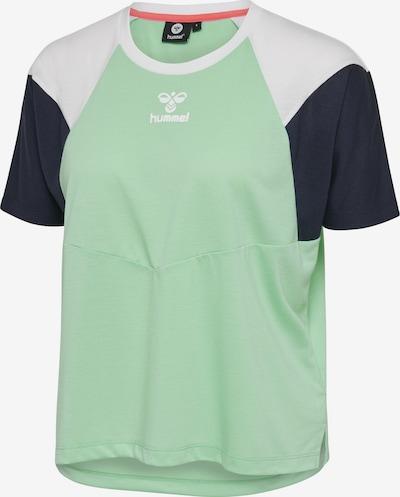 Hummel T-shirt S/S in grün / mint, Produktansicht