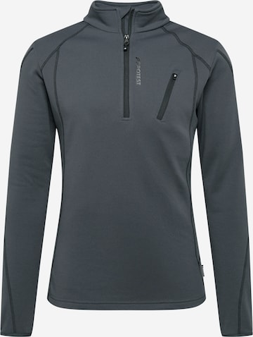 PROTEST Sportsweatshirt 'Humans' i grå