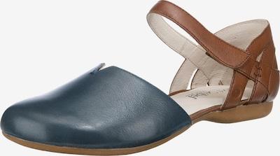 JOSEF SEIBEL Ballerina 'Fiona' in blau / braun, Produktansicht