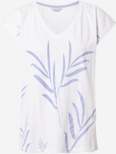 ZABAIONE T-shirt 'Donna' en violet clair / blanc cassé, Vue avec produit