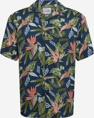 Only & Sons Košile 'KLOPP' - námořnická modř / zelená / olivová / tmavě růžová, Produkt