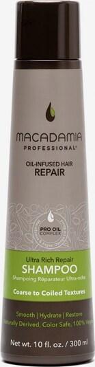 Macadamia Haarshampoo 'Ultra Rich' in beige / dunkelbraun / grün, Produktansicht