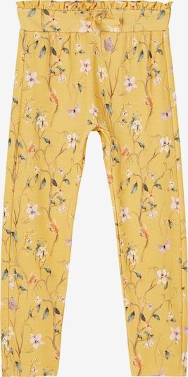 NAME IT Spodnie 'Fiola' w kolorze żółty / mieszane kolorym, Podgląd produktu