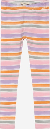 ESPRIT Leggings en gris / lila / naranja / rosa / blanco, Vista del producto