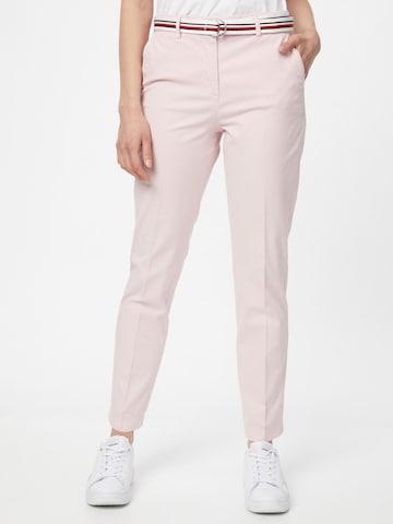 TOMMY HILFIGER Chino-püksid, värv roosa