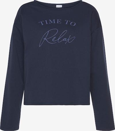 LASCANA Sweatshirt in navy, Produktansicht
