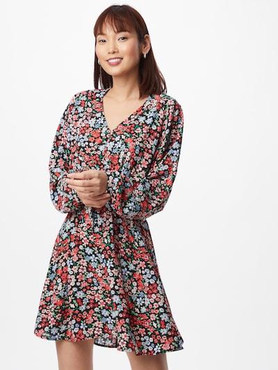 ONLY Kleid 'Tamara' in hellblau / grün / altrosa / rot / schwarz, Modelansicht