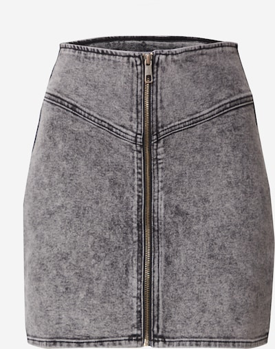EDITED Svārki 'Sadie', krāsa - melns džinsa, Preces skats