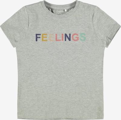 NAME IT Shirt 'TALIYA' in de kleur Grijs gemêleerd / Gemengde kleuren, Productweergave