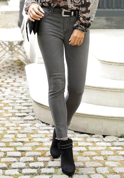 LASCANA Jeggings in grau, Modelansicht