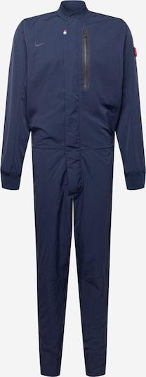 NIKE Trainingsanzug in navy, Produktansicht