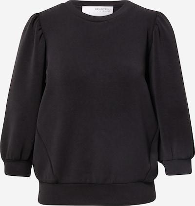 SELECTED FEMME Sweatshirt 'TENNY' in schwarz, Produktansicht
