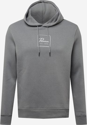 JACK & JONES Sweatshirt 'BOOSTER' in Grey / White, Item view