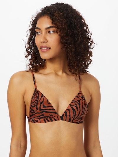 éjkék / rozsdabarna CATWALK JUNKIE Bikini felső 'AALIYAH', Modell nézet