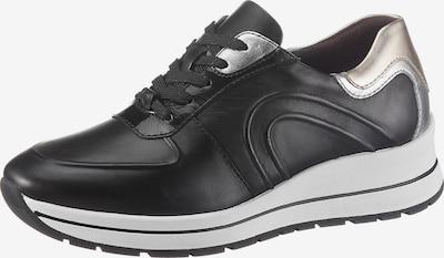 arany / fekete / ezüst TAMARIS Rövid szárú edzőcipők, Termék nézet