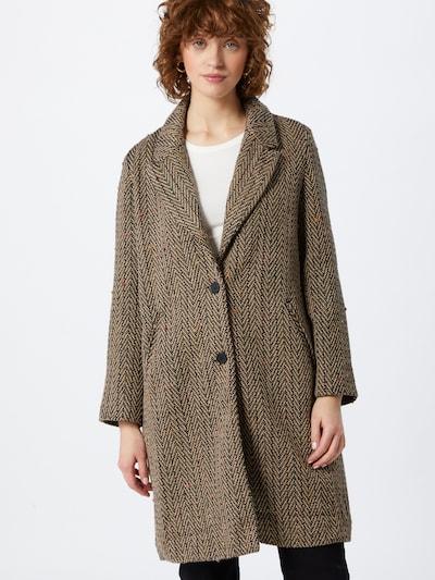 Cotton On Mantel in beige / lila / orange / pink / schwarz, Modelansicht