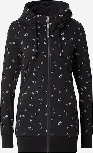 Ragwear Sweat jacket 'ABBIE' in Beige / Grass green / Wine red / Black, Item view