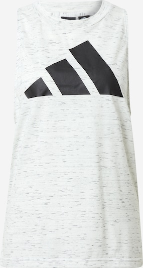 ADIDAS PERFORMANCE Sports top in Black / mottled white, Item view