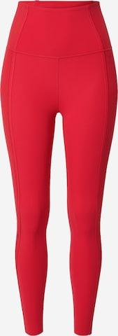 NIKE Спортен панталон в червено