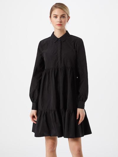 BRUUNS BAZAAR Robe-chemise 'Hyacinth Jaslene' en noir, Vue avec modèle