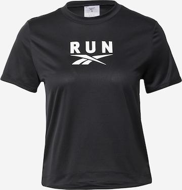 Reebok Sport Functioneel shirt 'Workout Ready' in Zwart