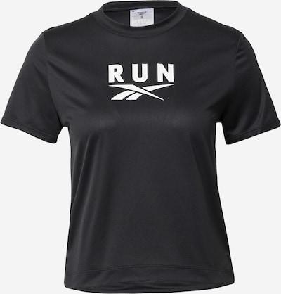 Reebok Sport Koszulka funkcyjna 'Workout Ready' w kolorze czarny / białym, Podgląd produktu