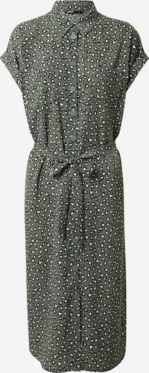 ONLY Kleid 'HANNOVER' in dunkelgrün / schwarz / weiß, Produktansicht