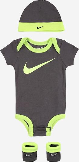 Rinkinys iš Nike Sportswear , spalva - tamsiai pilka / neoninė žalia, Prekių apžvalga