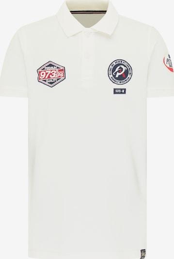 Petrol Industries T-Shirt en blanc, Vue avec produit