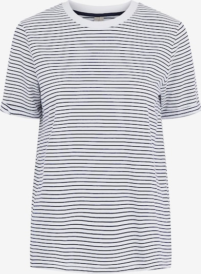 PIECES Shirt in Blue / White, Item view