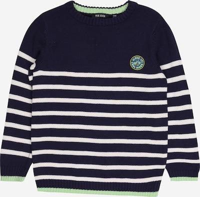 BLUE SEVEN Пуловер в тъмносиньо / жълто / мента / бяло, Преглед на продукта