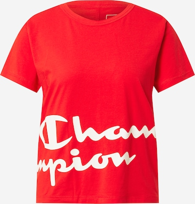 Champion Authentic Athletic Apparel Functional shirt in Red / White, Item view