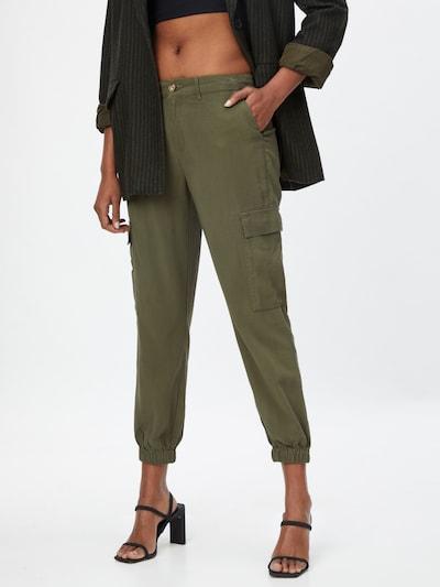 ONLY Klapptaskutega püksid 'ARIS' khaki, Modellivaade