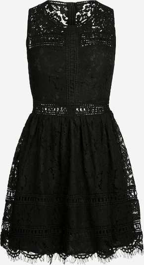 APART Spitzenkleid mit semi-transparentem Taillenband in schwarz, Produktansicht