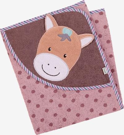 STERNTALER Handtuch in pink / altrosa, Produktansicht