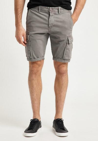 Pantaloni cu buzunare DreiMaster Vintage pe gri-bej, Vizualizare model