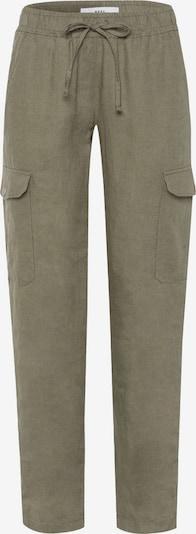 BRAX Pantalon cargo 'MAREEN' en vert, Vue avec produit