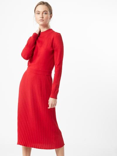EDC BY ESPRIT Kleid in rot, Modelansicht