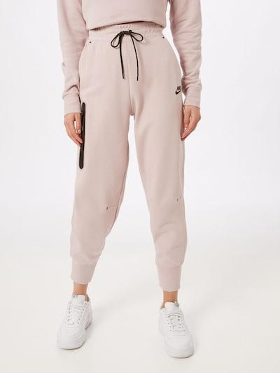 Nike Sportswear Nohavice - púdrová / čierna, Model/-ka