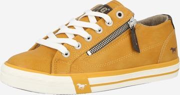MUSTANG Sneaker - Žltá
