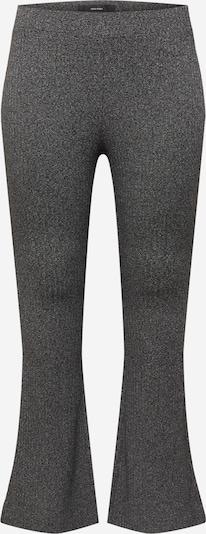 Vero Moda Curve Pantalon 'KAMMA' en noir chiné, Vue avec produit