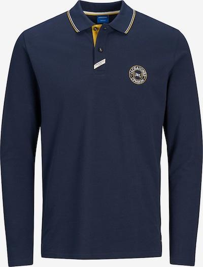 JACK & JONES Shirt in de kleur Blauw / Geel / Wit: Vooraanzicht
