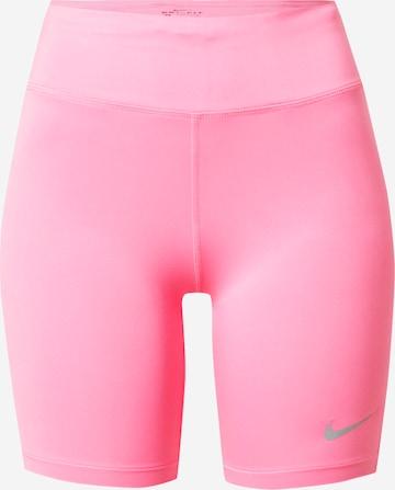 NIKE Παντελόνι φόρμας 'FAST' σε ροζ