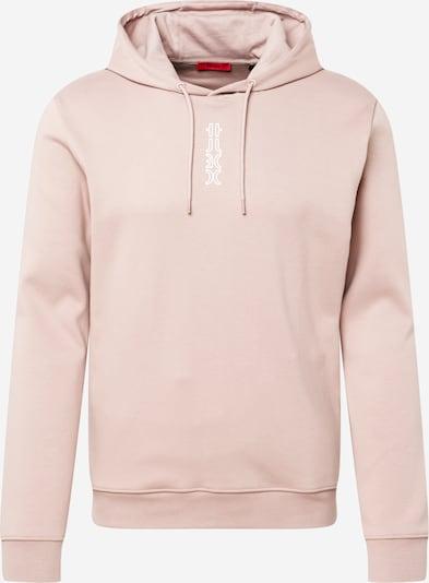 Bluză de molton 'Dondy' HUGO pe roz deschis / alb, Vizualizare produs