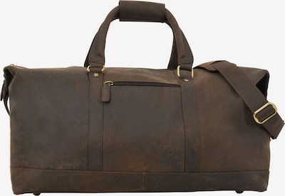 Gusti Leder Reisetasche 'Ruben' in braun, Produktansicht